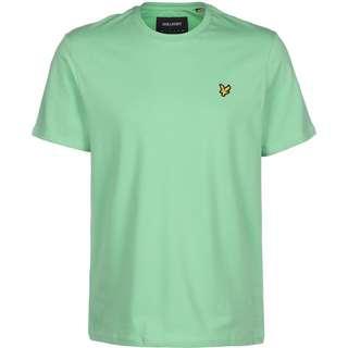 Lyle & Scott Plain T-Shirt Herren türkis