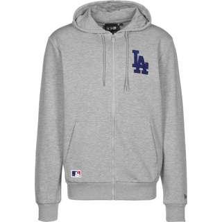 New Era LA Dodgers Logo Sweatjacke Herren grau/meliert