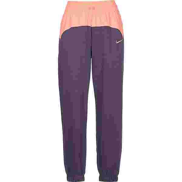 Nike W  Icon Clash Sweathose Damen lila/orange