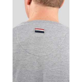 U.S. Polo Assn. Sweatshirt Tricolor Sweatshirt Herren grey melange