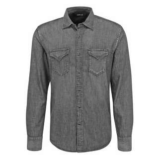 REPLAY M4860B.000.228 82B Langarmhemd Herren dark grey