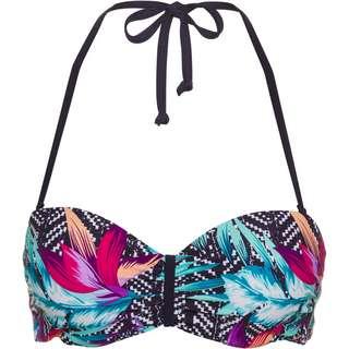 VENICE BEACH Bikini Oberteil Damen marine bedruckt