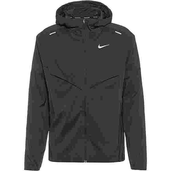 Nike Windrunner Laufjacke Herren black-reflective silv