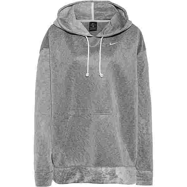 Nike Plus Size Hoodie Damen black-white