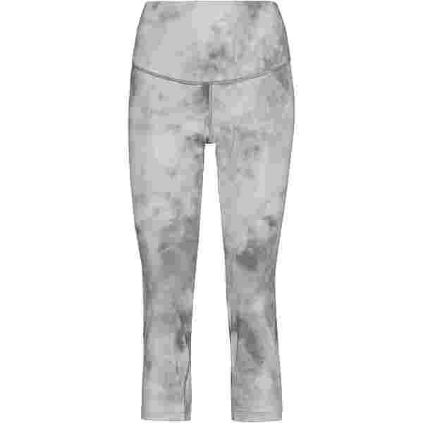 Nike Tights Damen smoke grey-white