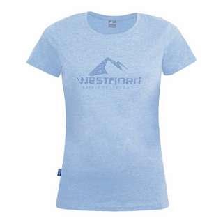 Westfjord Hekla T-Shirt Damen Zen Blau