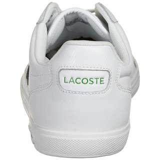 Lacoste Europa 0721 Sneaker Herren weiß / anthrazit