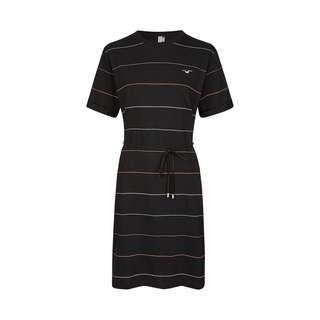 Cleptomanicx Feel Stripe Jerseykleid Damen Black