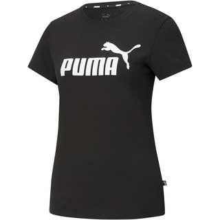 PUMA Essential Logo T-Shirt Damen black