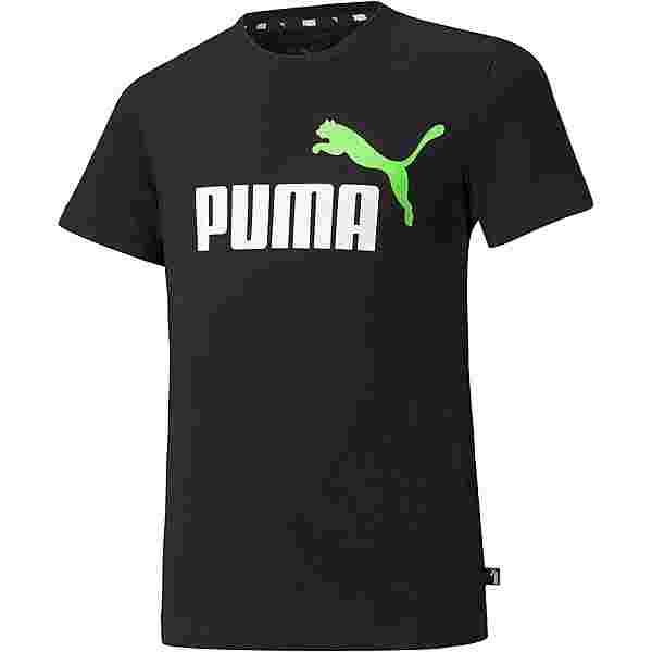 PUMA T-Shirt Kinder puma black-green flash