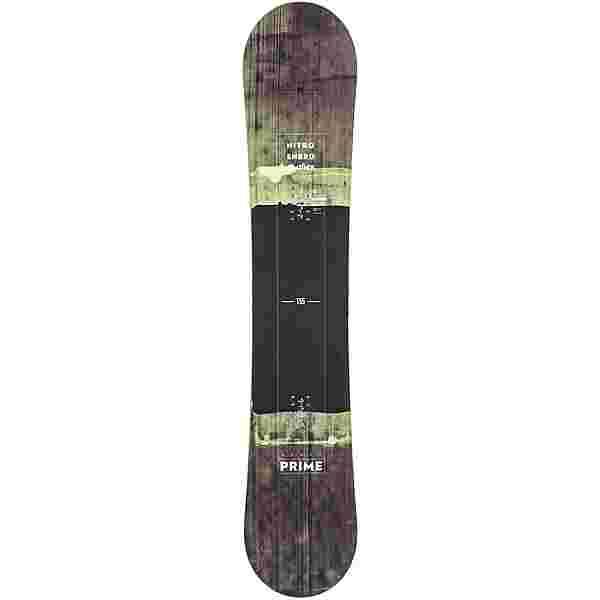 Nitro Snowboards Prime All-Mountain Board Herren gelb