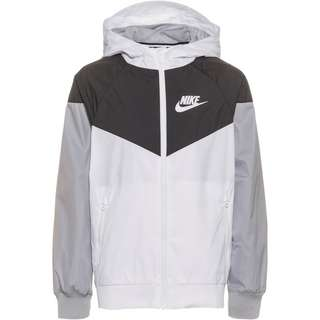 Nike NSW Trainingsjacke Kinder white/black/wolf grey