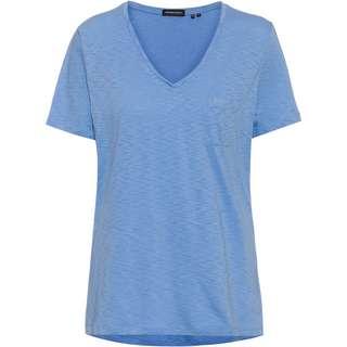 Superdry V-Shirt Damen bel air blue