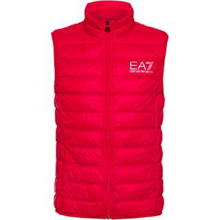 EA7 Emporio Armani Daunenweste Herren racing red
