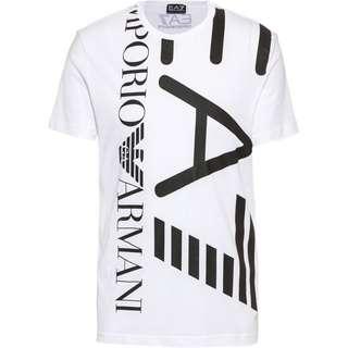 EA7 Emporio Armani T-Shirt Herren white