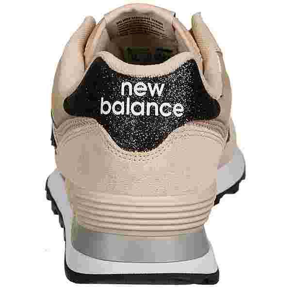 NEW BALANCE WL574 Sneaker Damen beige / altrosa
