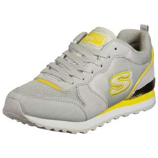 Skechers OG 85 Step N Fly Sneaker Damen weiß / gelb