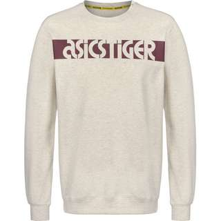 ASICS Sportswear Sweatshirt Herren beige/meliert