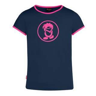 Trollkids Kroksand T-Shirt Kinder Marineblau/Magenta