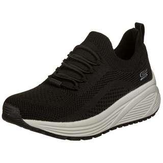 Skechers Engineered Knit Sock Fit Slip Sneaker Damen schwarz / beige