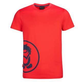Trollkids Kroksand T-Shirt Kinder Hellrot / Blau