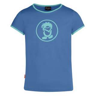 Trollkids Kroksand T-Shirt Kinder Mitternachtsblau / Minze dunkel