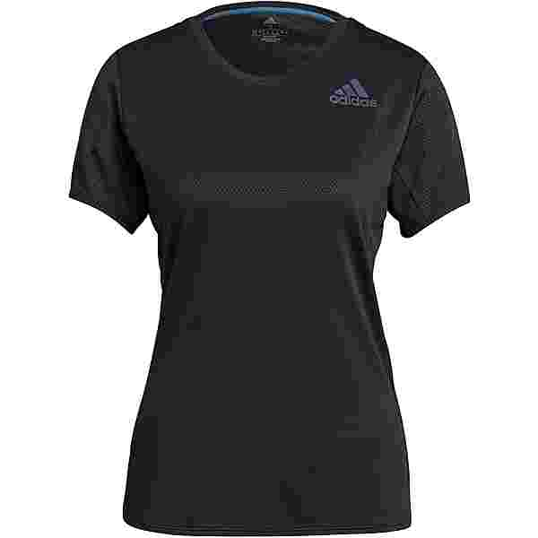 adidas HEAT READY SUPERNOVA Funktionsshirt Damen black-black
