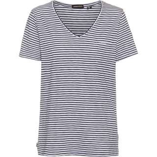 Superdry V-Shirt Damen navy breton