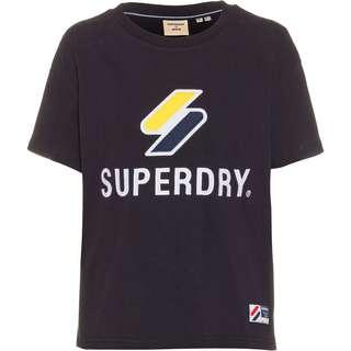 Superdry Sportstyle T-Shirt Damen deep navy