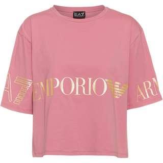 EA7 Emporio Armani T-Shirt Damen foxglove