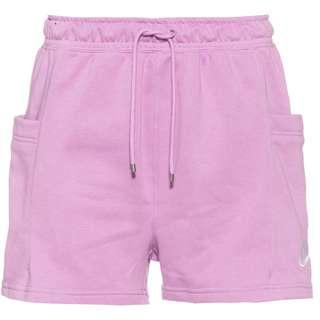 Nike NSW Air Sweatshorts Damen violet shock-white