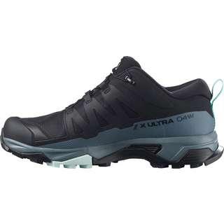 Salomon GTX X ULTRA 4 Wanderschuhe Damen black-stormy weather-opal blue