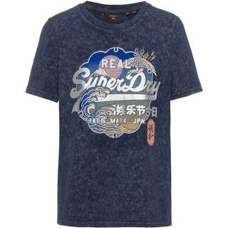 Superdry Itago T-Shirt Damen lauren navy