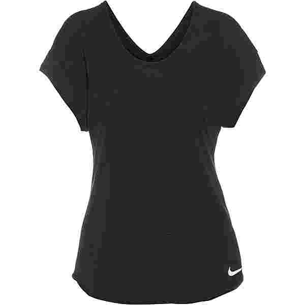 Nike Breathe Cool Funktionsshirt Damen black/reflective silv