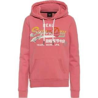 Superdry Itago Hoodie Damen dusty rose