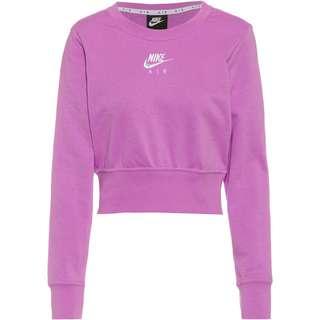 Nike NSW Air Sweatshirt Damen violet shock-white