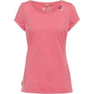 Ragwear Florah A Organic T-Shirt Damen pink