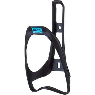 Contec Neo Cage Fahrradflaschenhalter schwarz-neoblue