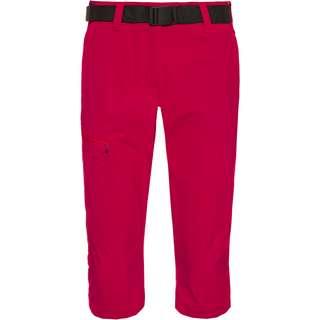 Maier Sports INARA SLIM 3/4 Caprihose Damen persian red