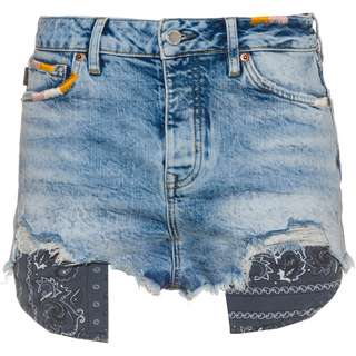 Superdry Jeansshorts Damen embroidery and repair