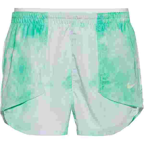 Nike Tempo Luxe Funktionsshorts Damen green glow/barely green/barely green