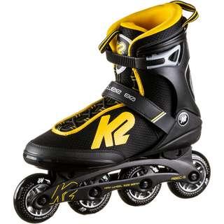 K2 POWER 80 M Inline-Skates Herren black-yellow