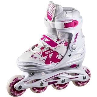 ROCES JOKEY 2.0 Inline-Skates Kinder white-pink-violet