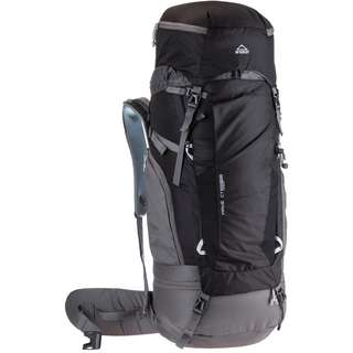 McKinley MAKE CT 65+10 Vario Trekkingrucksack black-grey dark-grey light