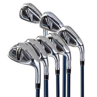 Taylor Made SIM2MaxOS 5-P,S/Rh M Golfschlägersatz silber