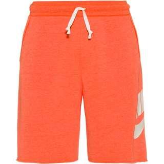 Nike NSW Shorts Herren turf orange-heather-sail