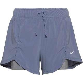 Nike Flex Essential 2-in-1 Funktionsshorts Damen ashen slate-particle grey-white