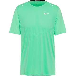 Nike Rise 365 Funktionsshirt Herren green glow-reflective silver