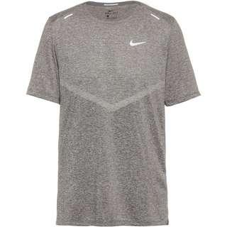 Nike Rise 365 Funktionsshirt Herren smoke grey-reflective silver