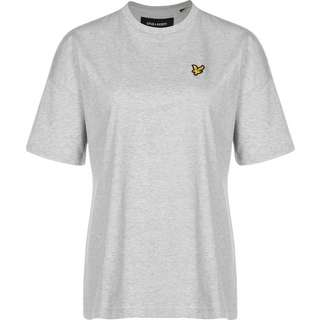 Lyle & Scott Oversized T-Shirt Damen grau
